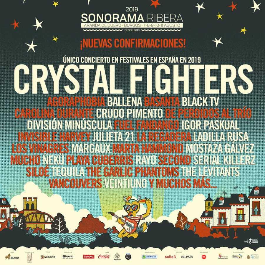 Cartel Sonorama Ribera 2019