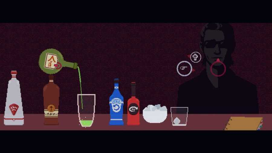 La preparación de los cócteles requiere precisión y buen pulso