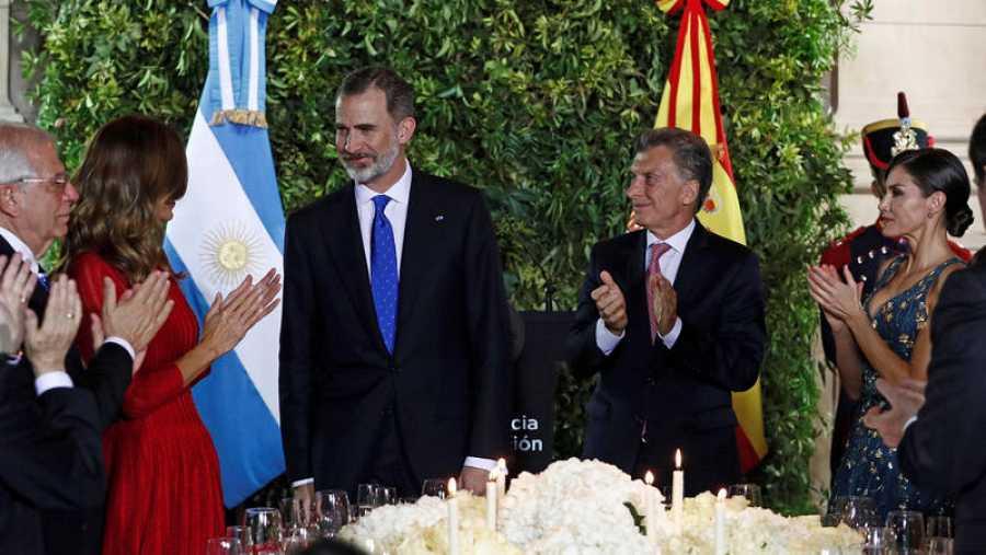 España Felipe Vi España Ha Apostado Siempre Por Argentina Y Lo Seguirá Haciendo Rtve Es