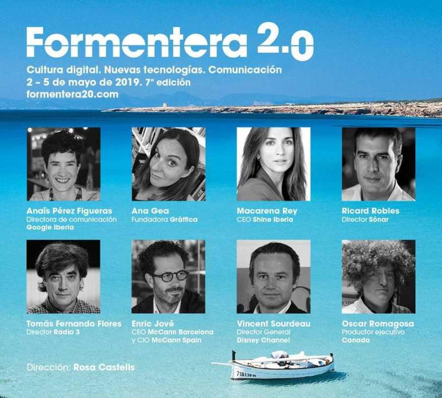 Ponentes de la séptima edición de Formentera 2.0