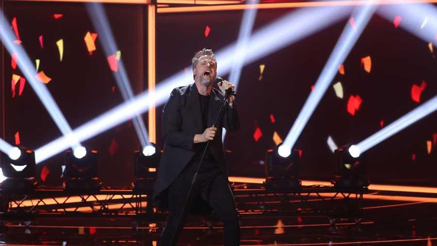 Gerónimo Rauch canta 'Quédate conmigo'