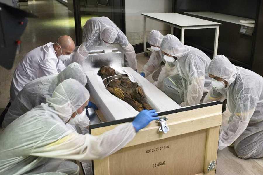 En una novedosa investigación, cuatro momias fueron analizadas con técnicas de radiología