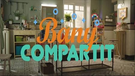 'Bany compartit' és una 'sitcom' que mostra les vivències de quatre joves estudiants a través de l'únic bany del pis on viuen.