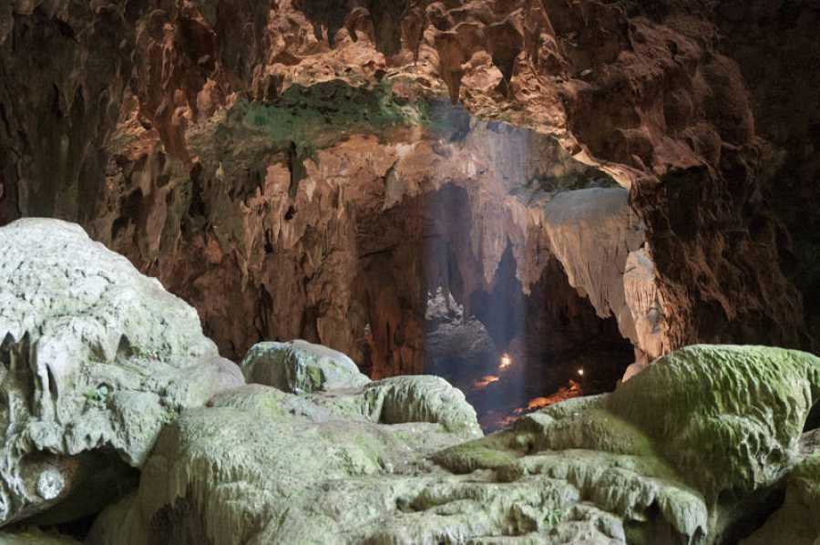 Cueva de Callao, en la Isla de Luzón, en las Filipinas, dondefueronencontrados losrestos del 'Homo luzonensis'