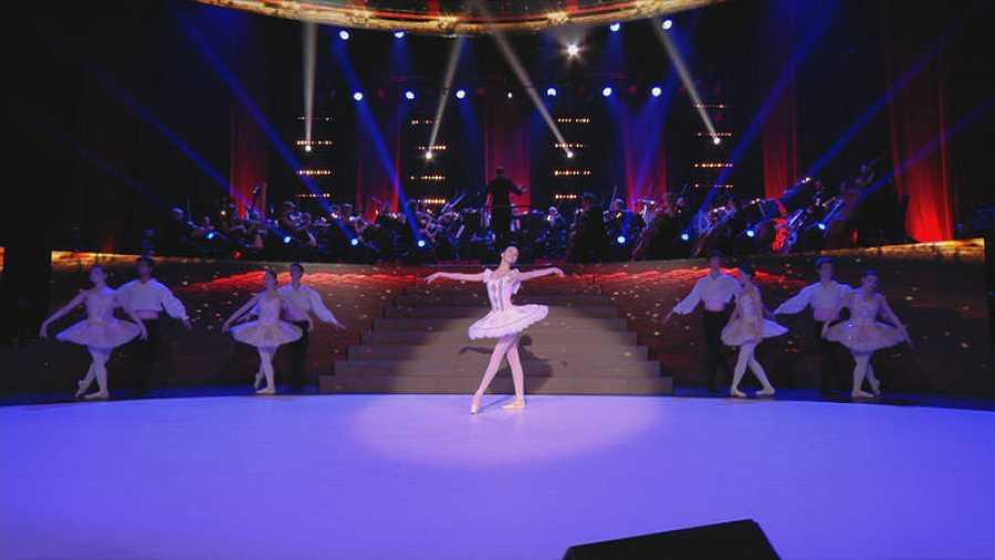 La variación de Lilac Fairy de La bella Durmiente o el ballet Harlequinade, entre la semifinalistas