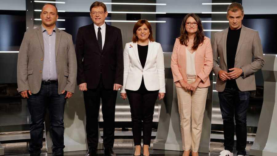 Debate elecciones valencianas TVE