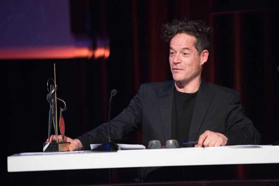 El actor Jorge Sanz recoge su premio