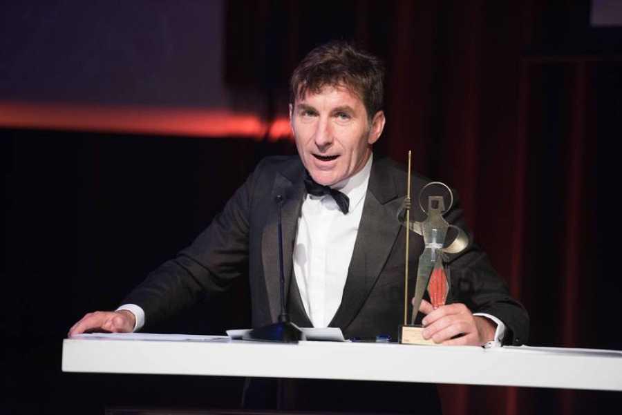 El actor Antonio de la Torre recoge su premio
