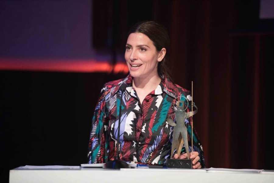 Bárbara Lennie en la ceremonia de entrega
