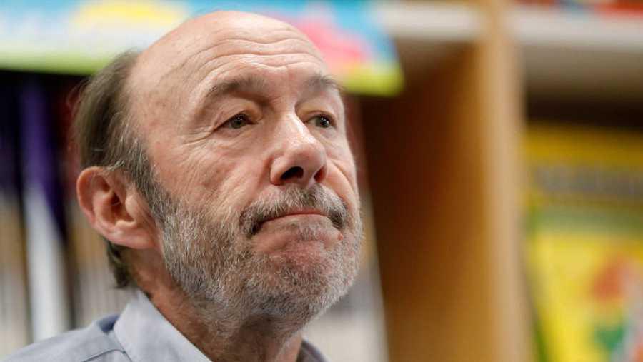 El ex secretario general del PSOE Alfredo Pérez Rubalcaba