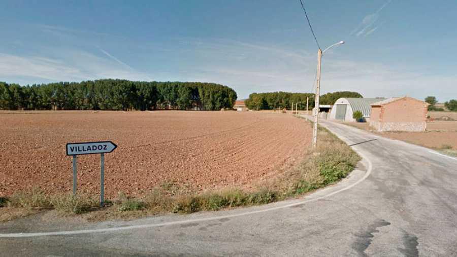 Acceso por carretera a Villadoz, Aragón