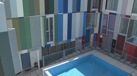 Casa de colores en Jaén