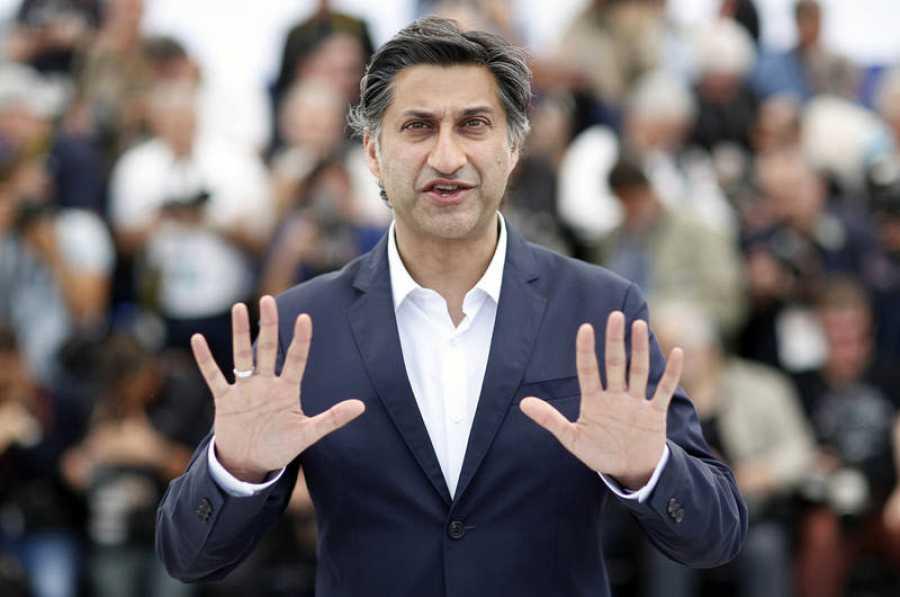 Asif Kapadia , en la presenación de 'Diego Maradona' en Cannes.