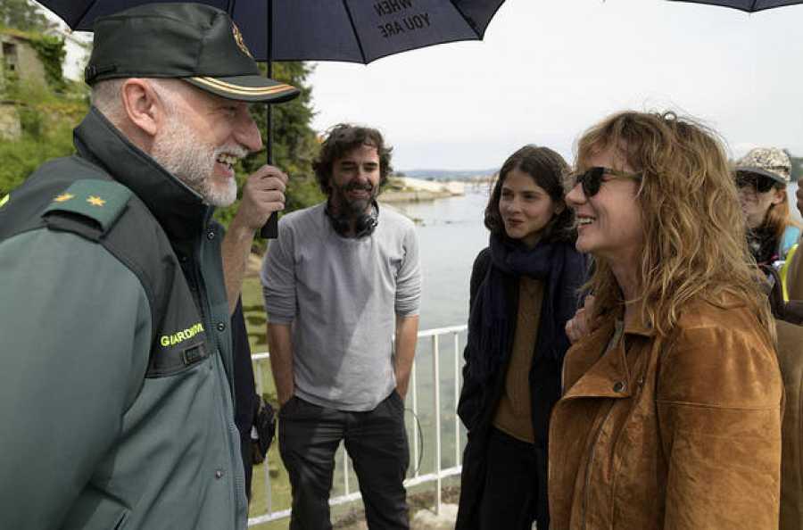 Primeras imágenes del rodaje de 'Néboa'