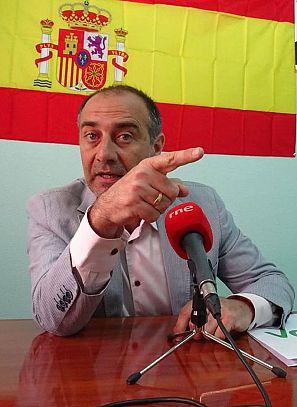 José Garre, candidato de Vox a la alcaldía de Torre-Pacheco
