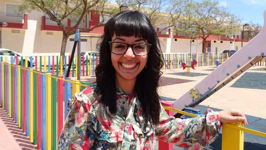 Loubna Hamdai, mediadora intercultural de Torre-Pacheco