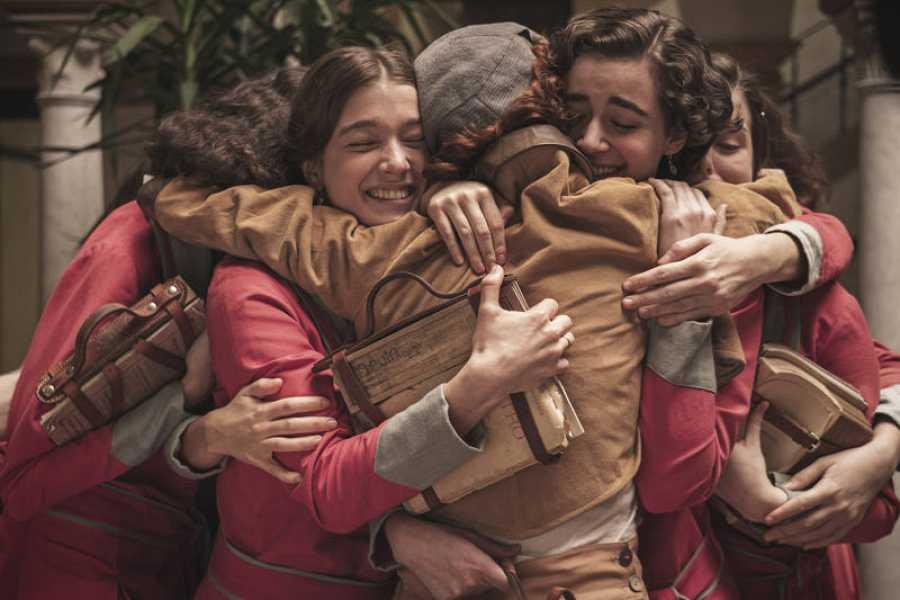 Las chicas, emocionadas con la vuelta de Teresa