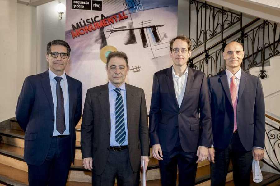 Manuel Ventero, Federico Montero, Pablo Gonzalez y Manuel Herrero