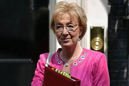 La exlíder de los conservadores en la Cámara de los Comunes, Andrea Leadsom