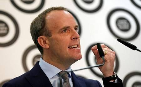 El exministro del 'Brexit', Dominic Raab