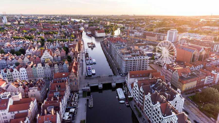 La ciudad polaca de Gdansk es la capital de Pomerania y el principal puerto del país