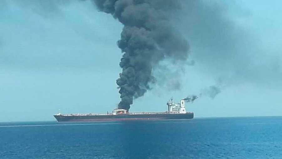 Según las autoridades marítimas de Noruega, el Front Altair ha sido presuntamente atacado en la mañana de este jueves y se encuentra en llamas.