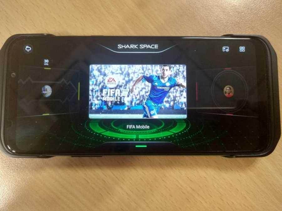 El modo Shark Space nos permite acceder a todos los juegos del móvil de una forma rápida
