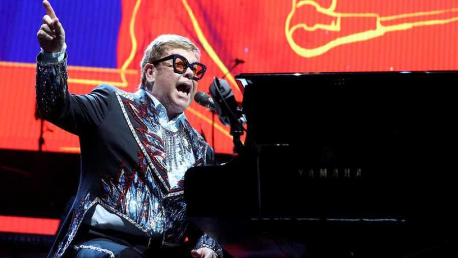 El británico Elton Jhon actúa en Madrid