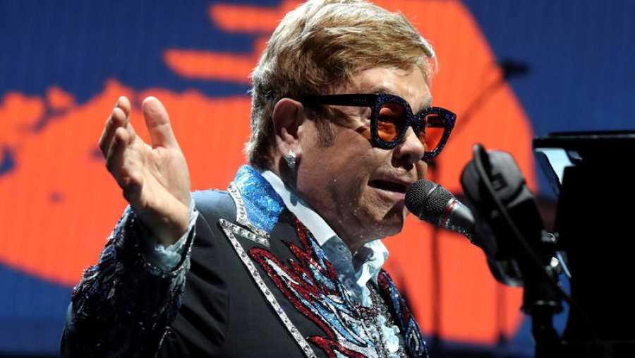 Elton John ofrece un concierto en Madrid