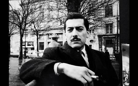 Mario Vargas Llosa en París