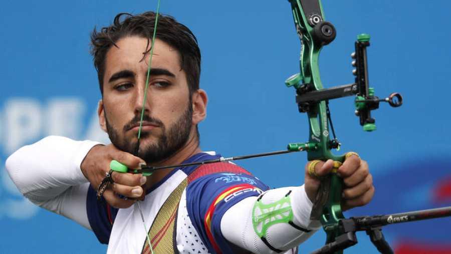 Pablo Acha logra el bronce en tiro con arco
