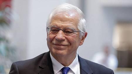 Imagen de archivo en la que aparece el ministro de Exteriores español, Josep Borrell
