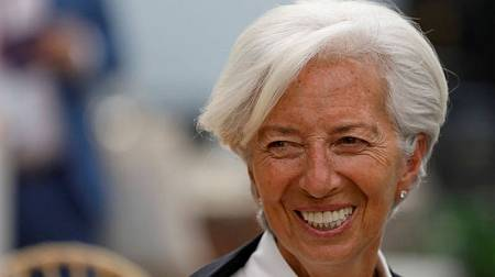 La nominada a dirigir el BCE, Christine Lagarde