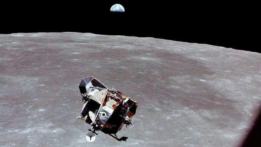 El momento más delicado de la misión Apolo 11 se produjo durante el alunizaje del Eagle.