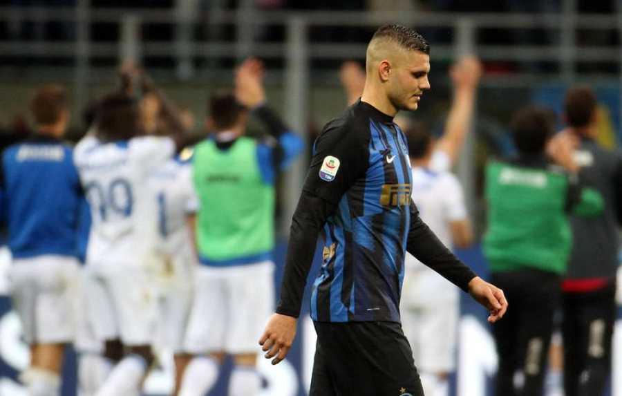 Mauro Icardi, cerca de abandonar el Inter.