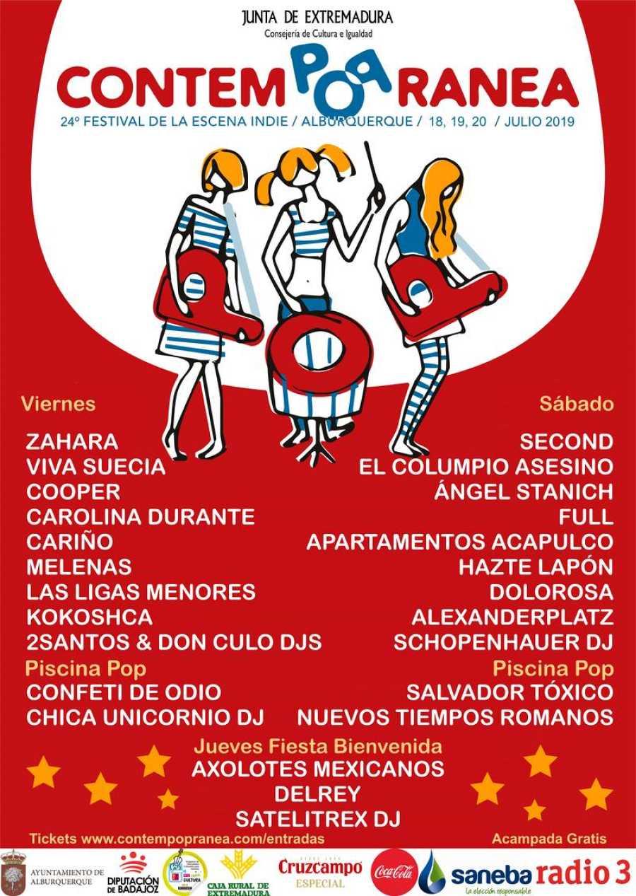 contempopranea 2019 cartel festival