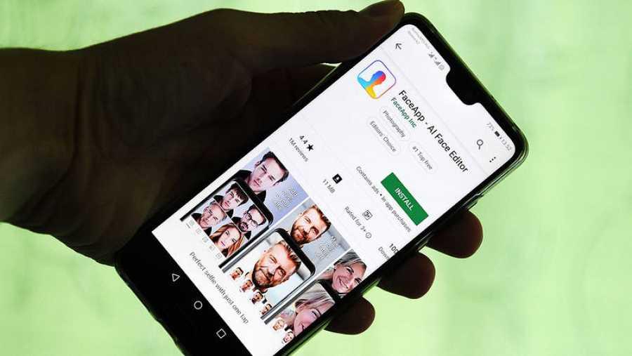 Los expertos advierten sobre las condiciones de uso de FaceApp
