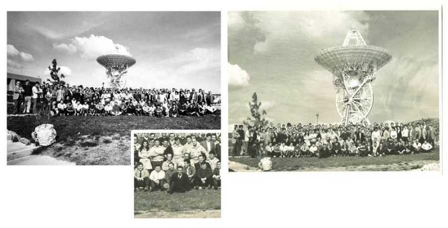 Imágenes tomadas por Saadia Levy a los trabajadores de la Estación en aquellos años.