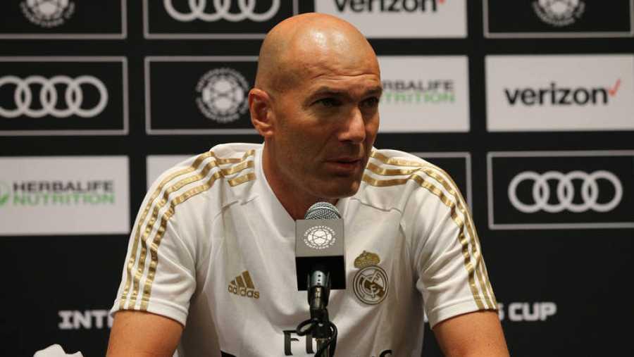 Rueda de prensa de Zinedine Zidane, en Houston