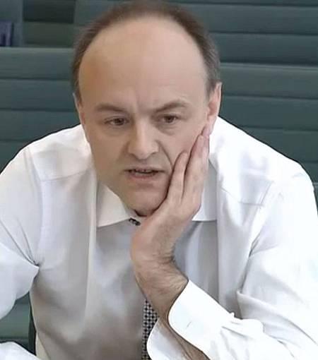 Dominic Cummings, asesor de Boris Johnson