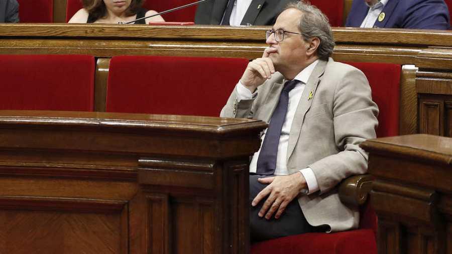 El presidente de la Generalitat, QuimTorra