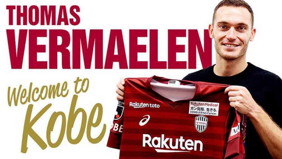 Vermaelen posa con los colores de su nuevo equipo