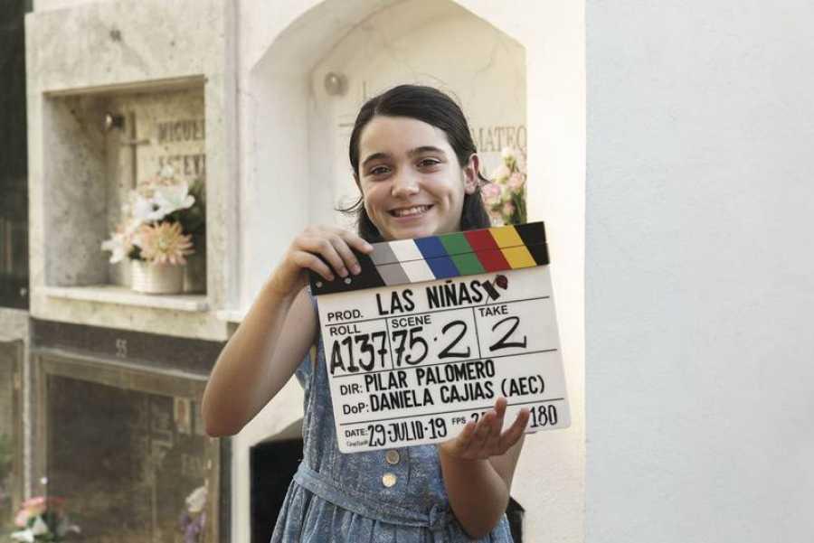 Andrea Fandos, protagonista de 'Las niñas'