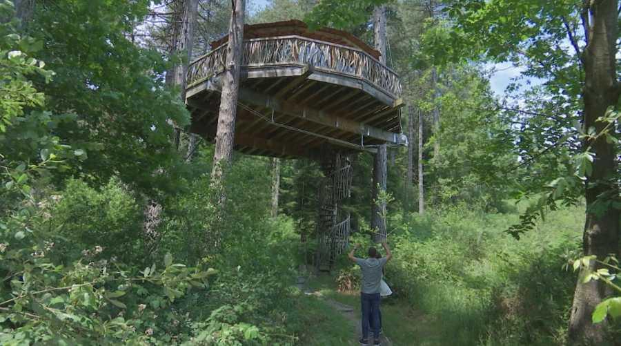Las cabañas más altas de Europa están en Parque Natural de Urquiola