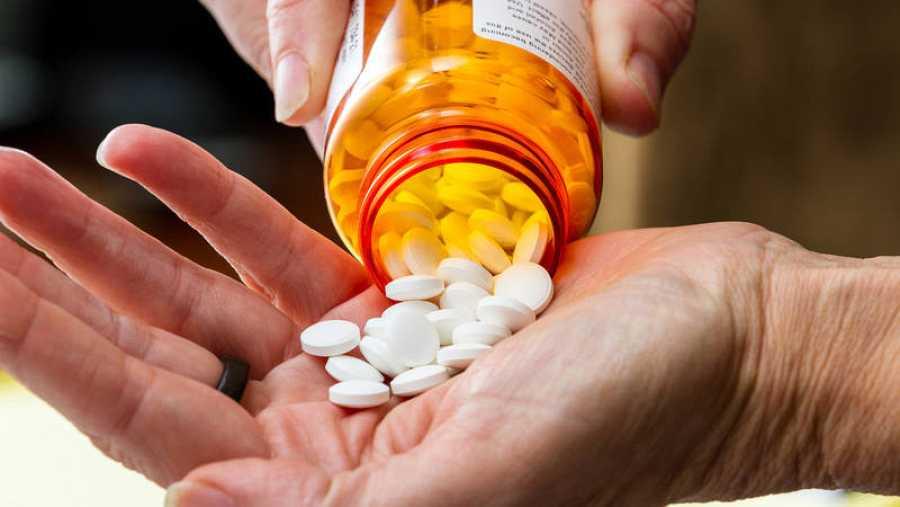 Medicinas prescritas con receta