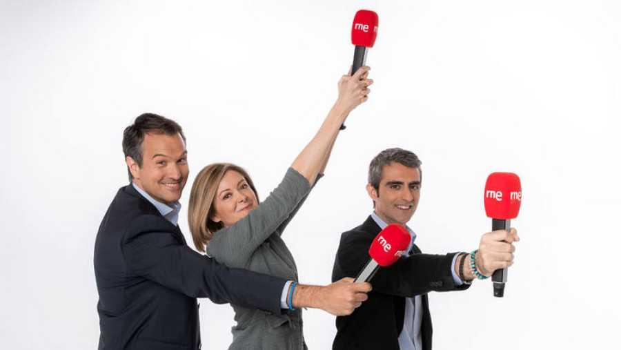 Íñigo Alfonso, Pepa Fernández y Carles Mesa te invitan a no perderte la nueva temporada de RNE.