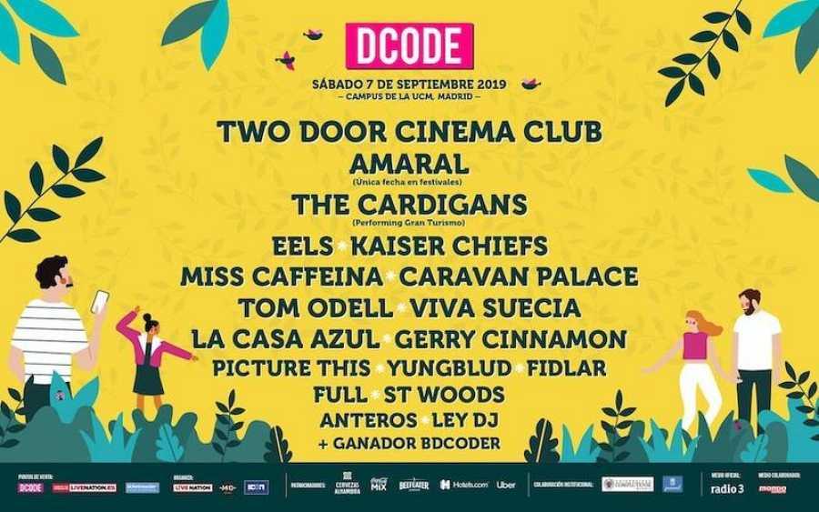Cartel del festival DCODE 2019