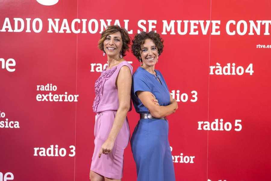 Mamen Asencio y Amaya Prieto