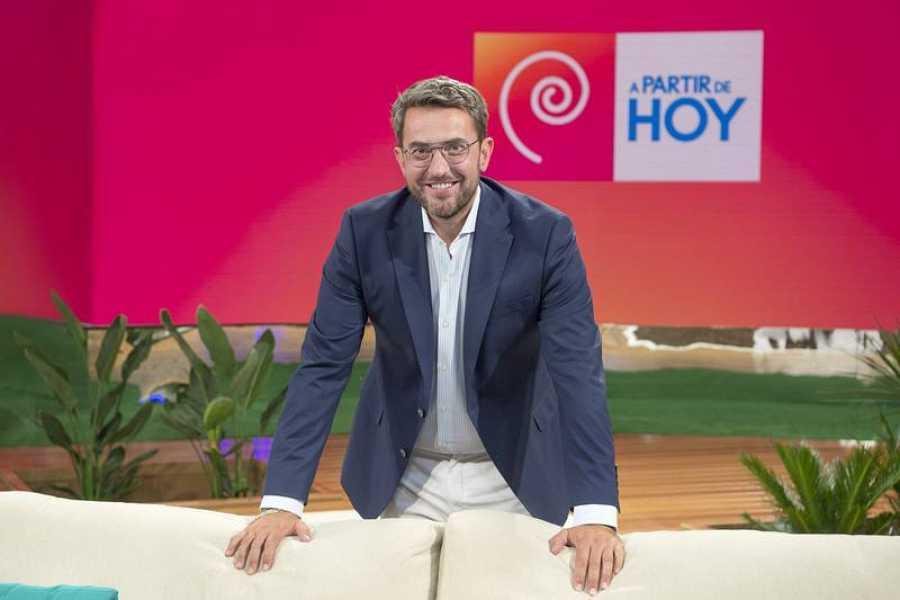 'A partir de hoy', con Máximo Huerta