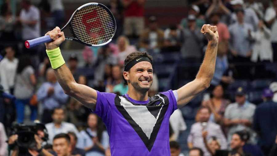 Grigor Dimitrov pasa a semifinales del US Open